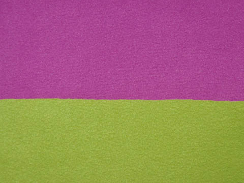 Dubbel Fleece - pink/lime