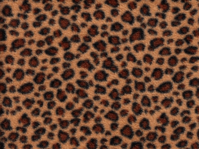 Fleece - Leopard