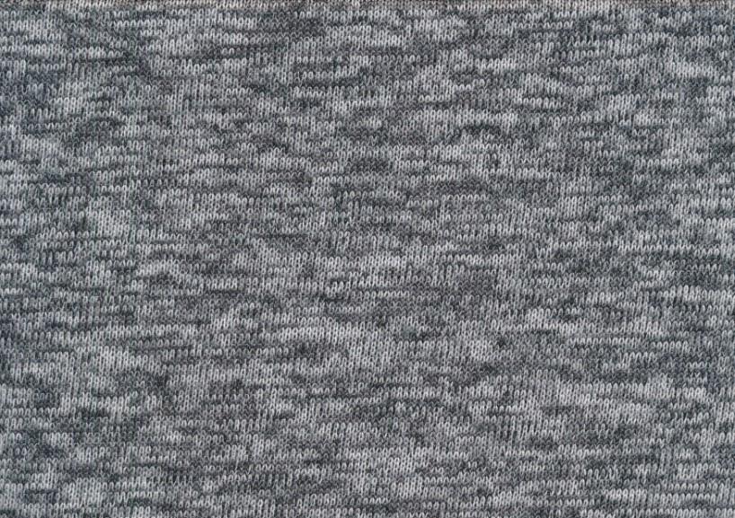 Trikå Fleece - ljusgrå