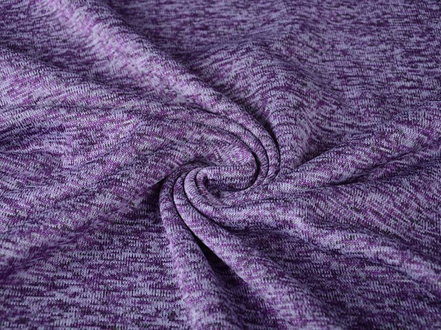 Trikå Fleece - lila