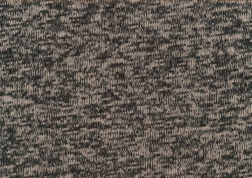 Trikå Fleece - brun