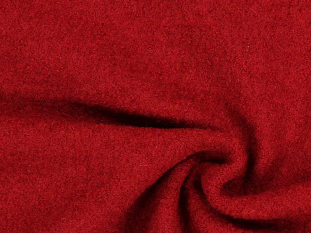 Ulltyg - röd